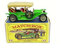 Matchbox Yesteryear Y9-2 1912 Simplex Model 50 In Type 'E1' 'NEW MODEL'  Box