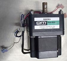 Vexta Oriental Motor Co. SMK550A-GN 5GN3KA Synchronous Motor 100v/115v Used T/O