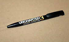 Uncharted 3 Drake's Deception rare promo Ball Point Pen Playstation 3 4 PS3 PS4
