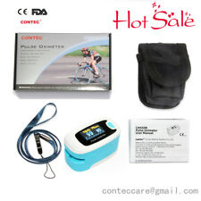 Finger Pulse Oximeter Blood Oxygen SPO2 Saturation Heart Rate Monitor OLED Home