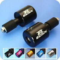 Z10 Racing SUZUKI GSXR 600 750 1000 1100 CNC Billet Handle Bar End Weights BLACK