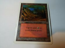 MAGIC THE GATHERING UNLIMITED LAND CARD MOUNTAIN v1 ex-nm