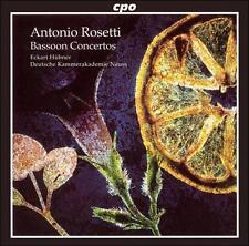 Rosetti: Bassoon Concertos, New Music