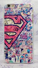 Superman Logo Superhero Rigid Case Cover Capa Coque Skin For All Phone Models