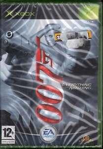 James Bond 007: Everything Or Nothing Xbox Nuovo Sigillato 5030947035433