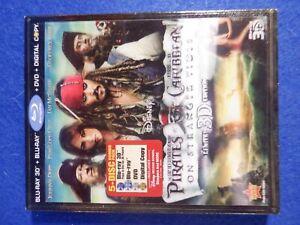 Pirates of the Caribbean: On Stranger Tides Blu-ray 3D/Blu-ray/DVD/Digital Copy
