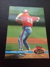Mark Gardner Expos 1991 Topps Stadium Club #592