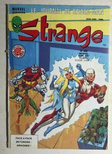 STRANGE #208 French color Marvel Comic (1987) Spider-Man Alpha Flight DD VG