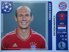 Panini 18 Arjen Robben Bayern München UEFA CL 2011/12