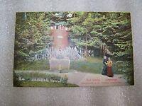 alte Ansichtskarte Postkarte Bad Schlag Isergebirge