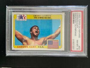 1983 Topps Olympians #92 Cassius Clay PSA 8 Muhammad Ali Rookie