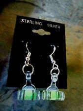 Dangle Earrings Usa 925 Sterling Silver Level