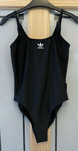 ADIDAS ORIGINALS. Ladies Black Swimsuit. Size 14 / 16. BNWT.