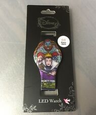 Disney Snow White Evil Queen LED Digital Rubber Watch New With Tags!