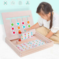 Montessori Education Four Color Game Wooden Early Preschool Kid Learning Toys