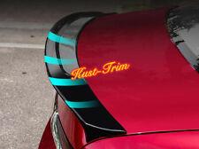 BLACK Rear Tail Trunk Spoiler Wing Lip Trim For  2018 2019 2020 Mazda 6 Sedan