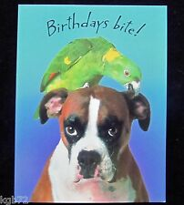 Leanin Tree Birthday Greeting Card Dog Funny Multi Color Notelet Series N16