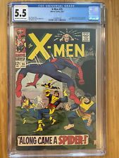 X-Men #35 (1967) CGC 5.5 Spider-Man appearance 1st Changeling