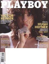 Dutch Playboy Magazine 2017-11 Hugh Hefner Special, Brook Power, Nina Daniele