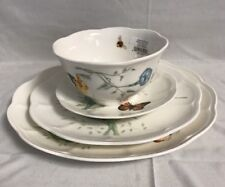 Lenox Butterfly Meadow Porcelain Flutter 16-pc Dinnerware Set -NEW IN BOX