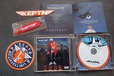 TEDE & Sir Mich - Keptn CD z autografami, wlepkami i brelokiem - NEW