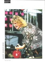 OZZY OSBOURNE @ LIVE AID 1985 magazine PHOTO/Poster/clipping 11x8 inches
