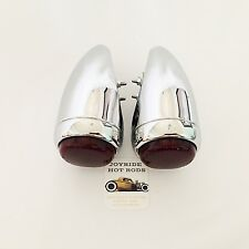 Hot Rod 1939 Chevy Tail Lights - FULL CHROME -1 PAIR