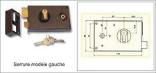 Serrures en applique avec clé pour portails à vantaux  réf 19273