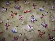 Classic Toys Tossed Allover Cotton Fabric Green Ho Ho Ho Fabric Maywood Fabric