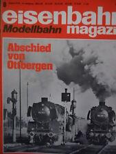Eisenbahn Modellbahn magazin n°8 1976 - Abschied von Ottbergen - Tr.22