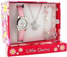 Ravel Little Gems Kids Pony Watch & Jewellery Gift Set for Girls R2213