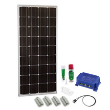Solar Kit 170W 12V mono, Schaudt LRM MPP 1218 for RVs (glue,cable, fixture set)