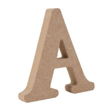 Large Wooden Letter A Alphabet Decor10cm Wedding Party Room Home DIY Ornament