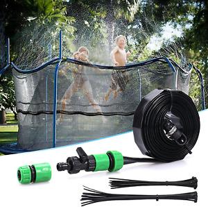 Trampoline Sprinkler Fun Water Park Summer Toys Trampoline Accessories Outdoor