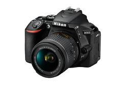 Nikon D D5600 24.0MP Digital SLR-Negra (Kit con lente 18-55 mm AF-P VR)