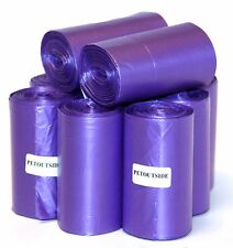 1035 DOG PET WASTE POOP BAGS 45 PURPLE REFILL ROLLS CORELESS by PetOutSide USA