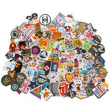 Neu 100X Random Vinyl Skateboard Guitar Travel Case sticker Aufkleber Abziehbil