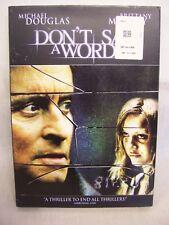 Don'T Say A Word Dvd'S Nib, Michael Douglas, Brittany Murphy