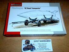 WWII german Vidalwagen Street V-2 Transporter  1:72 Special Hobby SA72009 Neu