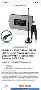 Car Cell Booster! Smoothtalker Mobile X1 Cellular Booster