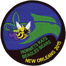 USAF 43rd FIGHTER SQUADRON - NEW ORLEANS 2015 PATCH