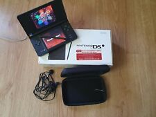 Nintendo DSi 3.25in LCD Display Game System - with game and box - Black