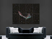 NEBULA SPACE POSTER STARS GALAXY GIANT WALL ART PICTURE PRINT LARGE HUGE