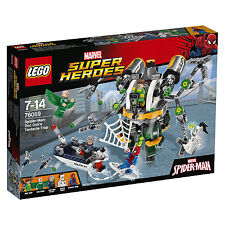 LEGO Spiderman 76059 Doc Ocks Tentakelfalle 5 Figur Marvel Super Heroes Comic