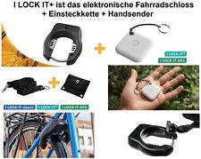 Fahrradschloss + Einsteckkette + Handsender