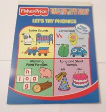 READING KINDERGARTEN LEARNING PAD    FISHER PRICE