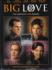 Big Love - The Complete Third Season - DVD (Region 1 Brand New Sealed)