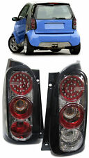 LED REAR tail LIGHTS IN CARBON LOOK FOR Smart Coupe ForTwo MC01 450 98-06 MC01