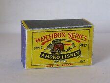 Repro Box Matchbox 1:75 Nr.17 Bedford Removals Van alt