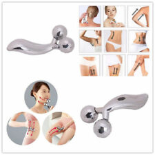 3D Y-shape Facial Face Body MASSAGER SOLAR ENERGY Massage Roller Microcurrent UK